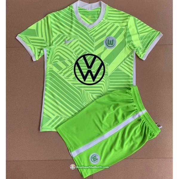 Maillot Vfl Wolfsburg Enfant 2021 2022 Domicile