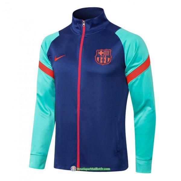Veste Barcelone 2021 2022 Bleu/vert