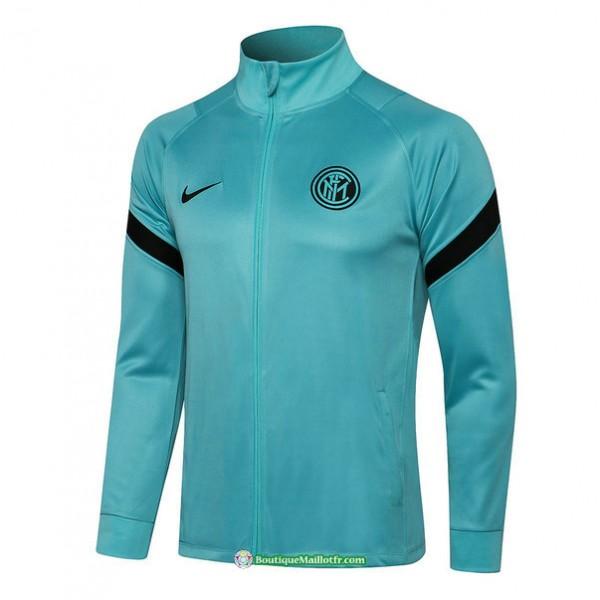 Veste Inter Milan 2021 2022 Vert Col Haut