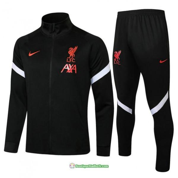 Veste Survetement Liverpool 2021 2022 Noir