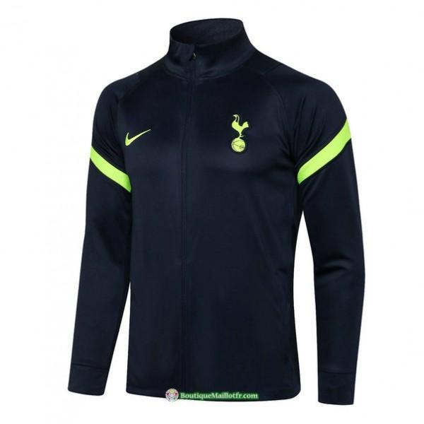 Veste Tottenham Hotspur 2021 2022 Bleu Marine
