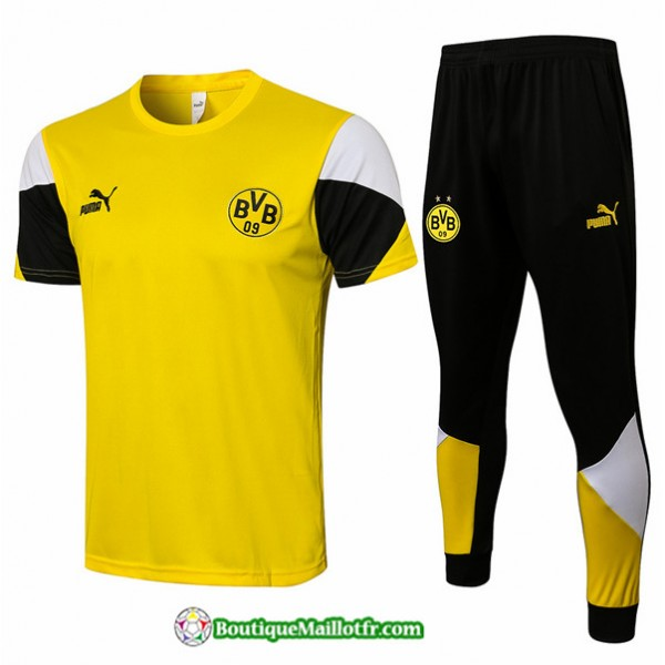 Kit Maillot Entraînement Borussia Dortmund 2021 2...