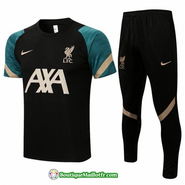 Kit Maillot Entraînement Liverpool 2021 2022 Trai...
