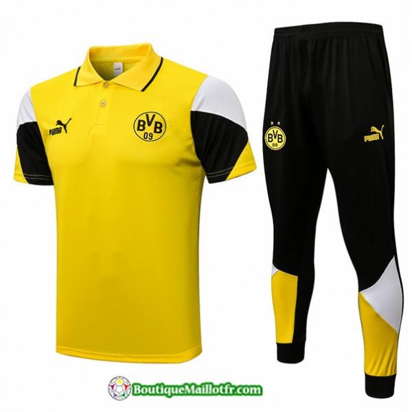 Kit Maillot Entraînement Polo Borussia Dortmund 2...