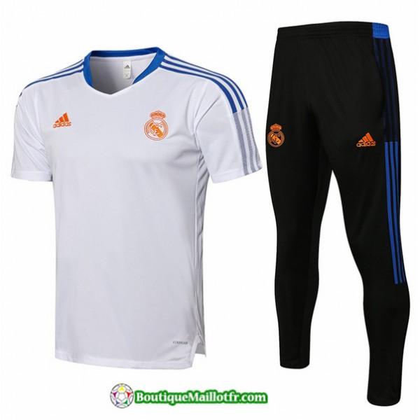 Kit Maillot Entraînement Real Madrid 2021 2022 Tr...