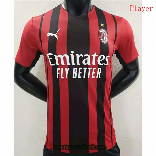Maillot Ac Milan 2021 2022 Player Domicile