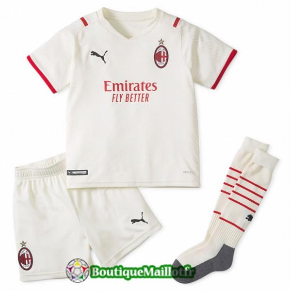 Maillot Ac Milan Enfant 2021 2022 Exterieur