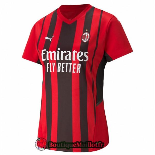 Maillot Ac Milan Femme 2021 2022 Domicile