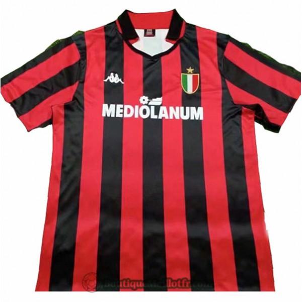 Maillot Ac Milan Retro 1988 89 Domicile
