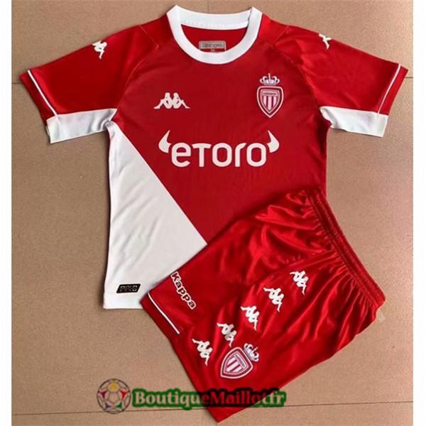 Maillot As Monaco Enfant 2021 2022 Domicile