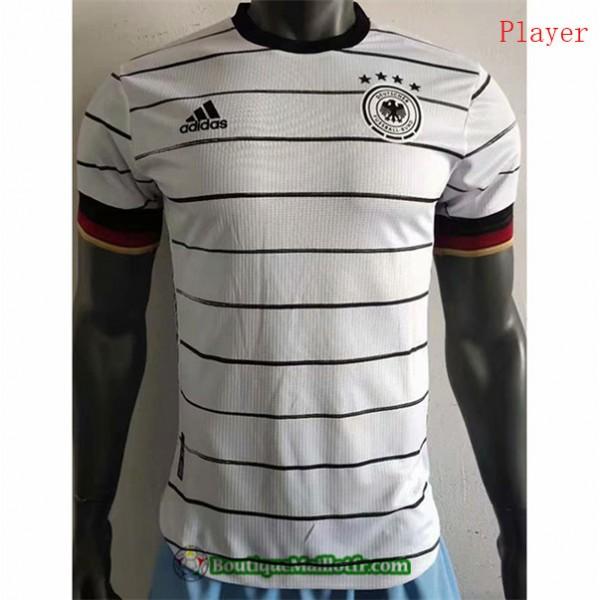 Maillot Allemagne 2020 2021 Player Domicile