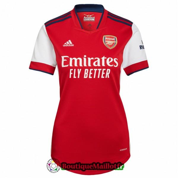 Maillot Arsenal Femme 2021 2022 Domicile