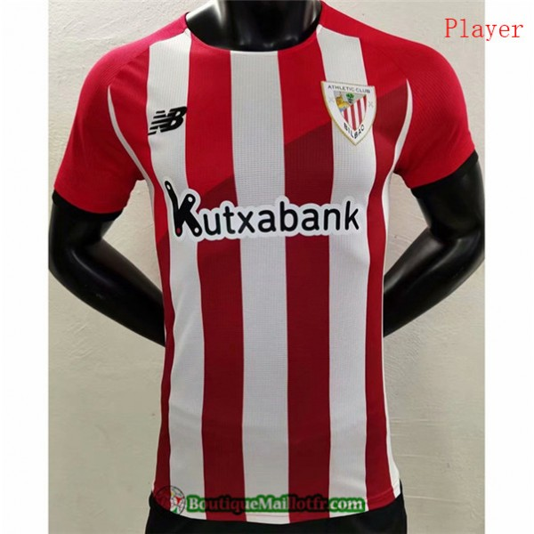 Maillot Athletic Bilbao 2021 2022 Player Domicile