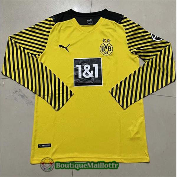 Maillot Borussia Dortmund 2021 2022 Domicile Manch...