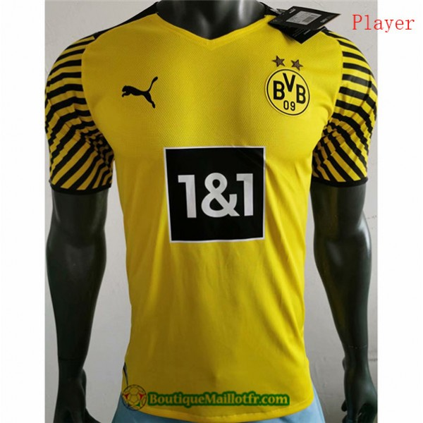 Maillot Borussia Dortmund 2021 2022 Player Domicil...
