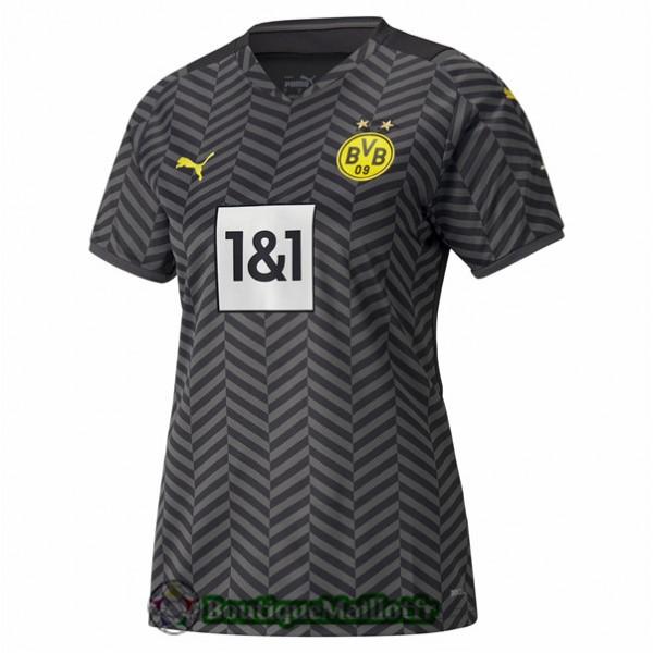 Maillot Borussia Dortmund Femme 2021 2022 Exterieu...