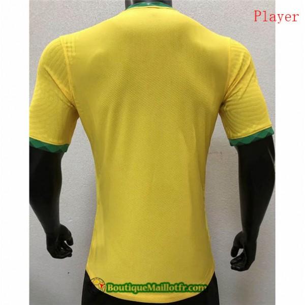 Maillot Brésil 2020 2021 Player Domicile