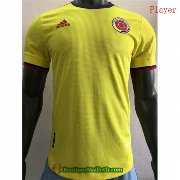 Maillot Colombie 2021 2022 Player Domicile