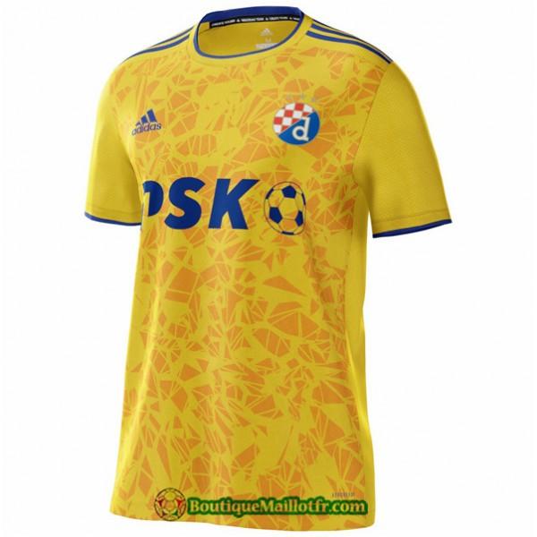 Maillot Dinamo Zagreb 2021 2022 Exterieur Jaune