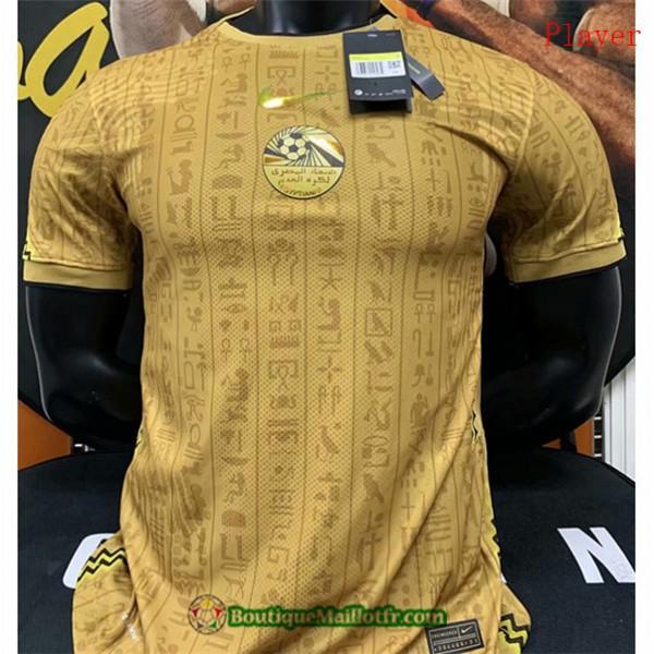 Maillot Egypte 2020 2021 Player Jaune