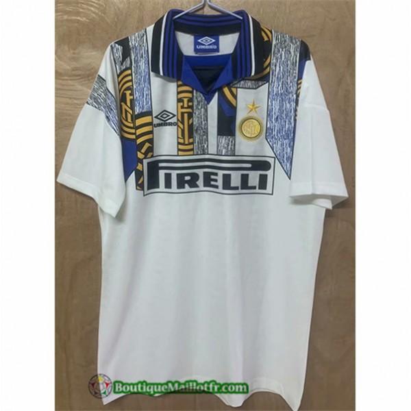 Maillot Inter Milan Retro 1996 Exterieur