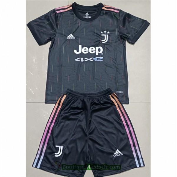 Maillot Juventus Enfant 2021 2022 Exterieur