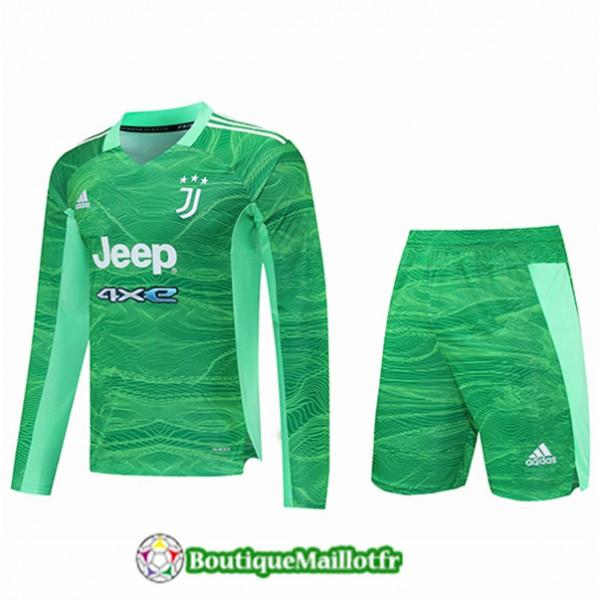 Maillot Juventus Gardien De But + Short Manche Lon...