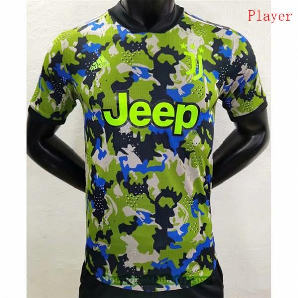 Maillot Juventus Player Vert 2020 2021