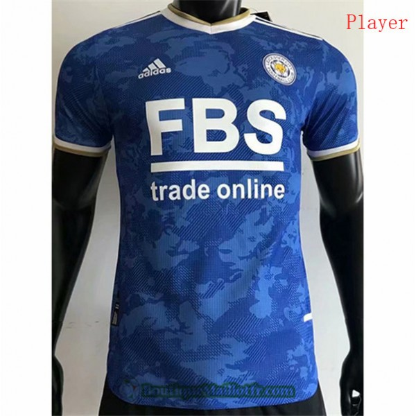 Maillot Leicester City 2021 2022 Player Domicile