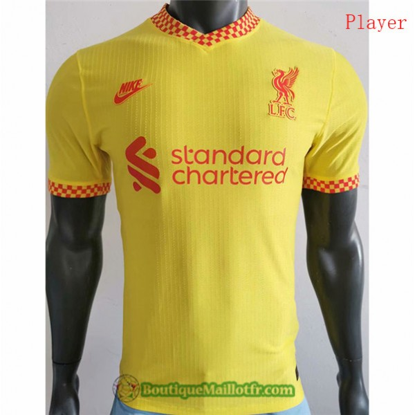 Maillot Liverpool 2021 2022 Player Third