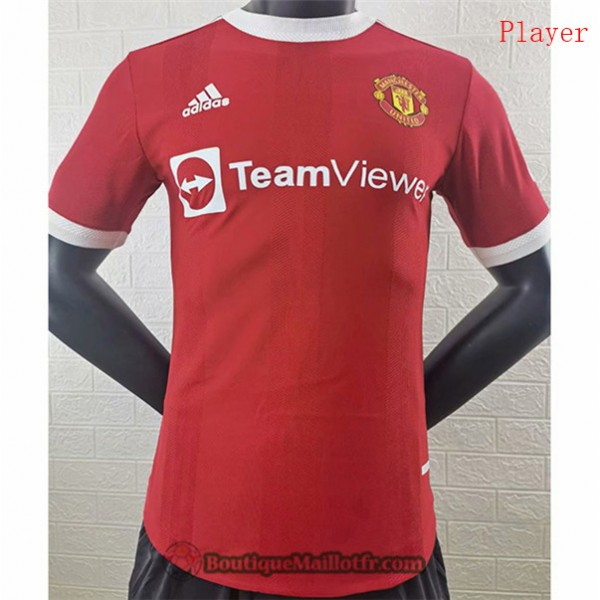 Maillot Manchester United 2021 2022 Player Domicil...