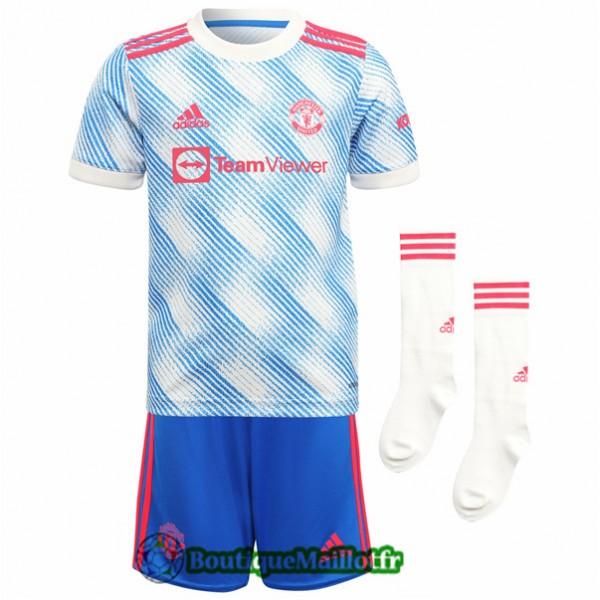Maillot Manchester United Enfant 2021 2022 Exterie...