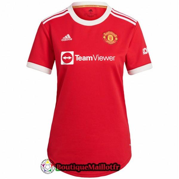 Maillot Manchester United Femme 2021 2022 Domicile