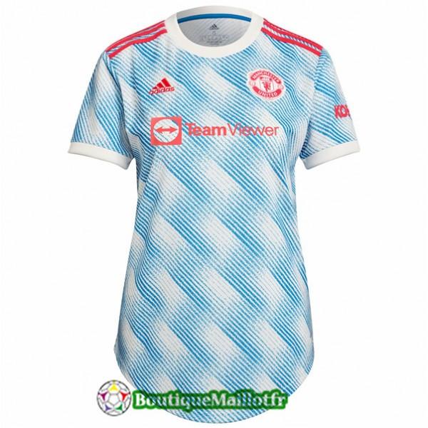 Maillot Manchester United Femme 2021 2022 Exterieu...
