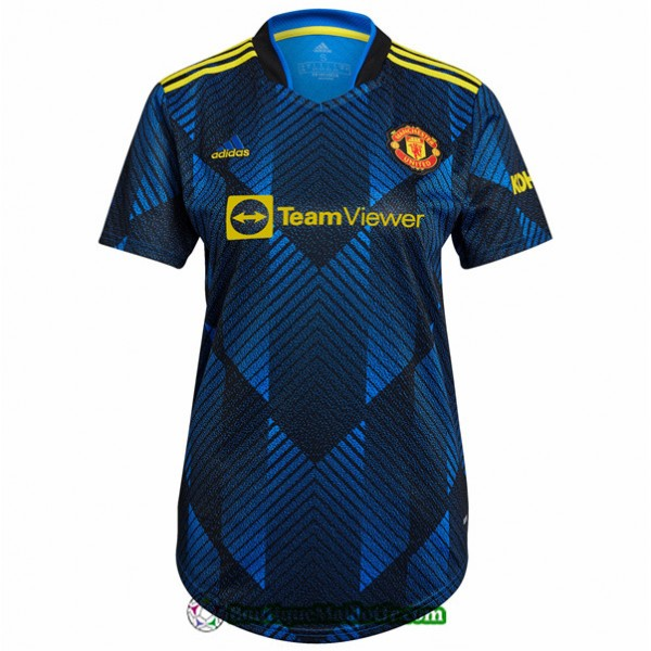 Maillot Manchester United Femme 2021 2022 Third