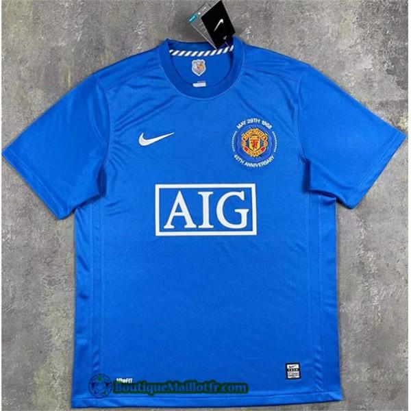Maillot Manchester United Retro 2007 08 Exterieur