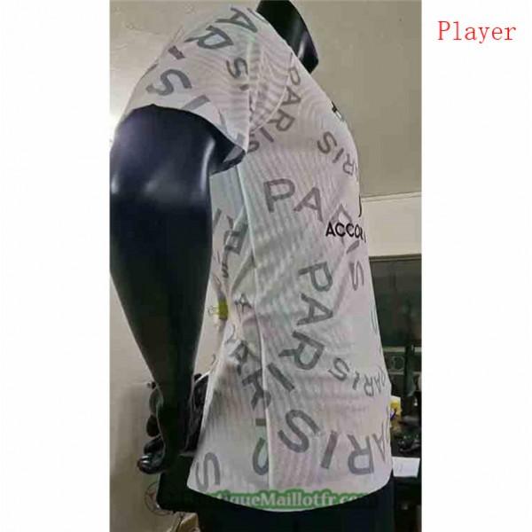Maillot Psg Jordan 2020 2021 Player Blanc Training