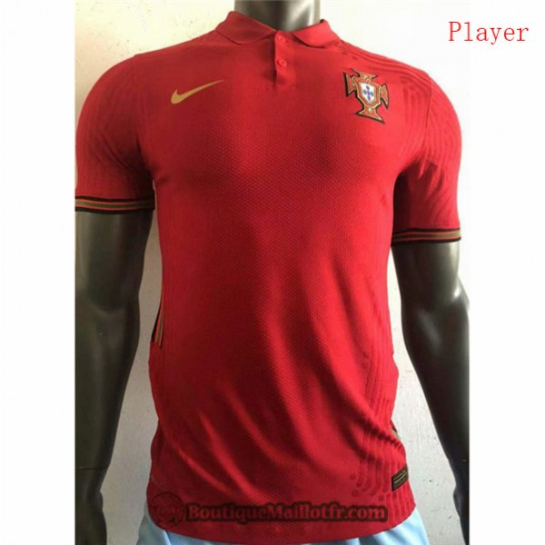 Maillot Portugal 2020 2021 Player Domicile
