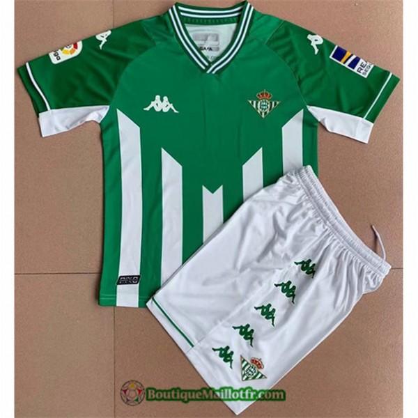 Maillot Real Betis Enfant 2021 2022 Domicile