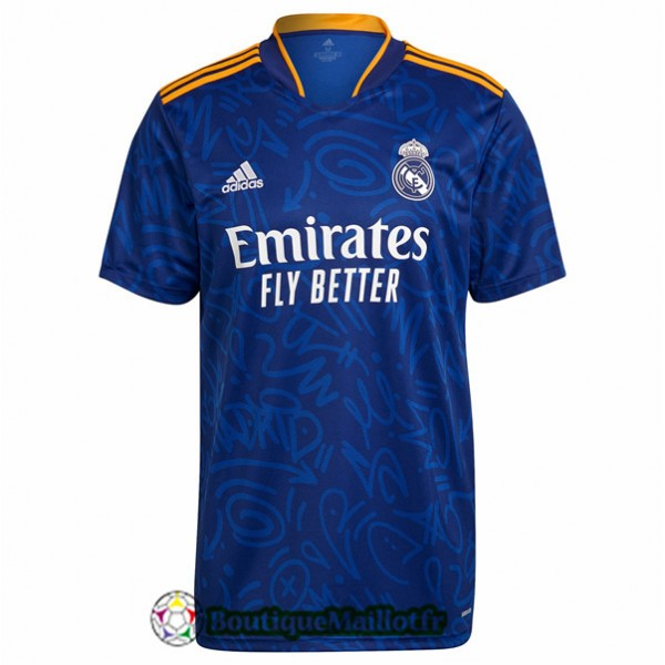 Maillot Real Madrid 2021 2022 Exterieur