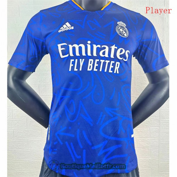 Maillot Real Madrid 2021 2022 Player Exterieur