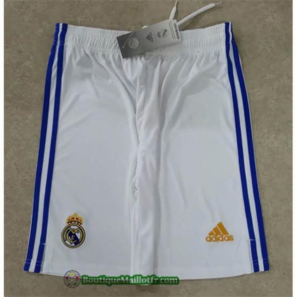 Maillot Real Madrid Short 2021 2022 Domicile