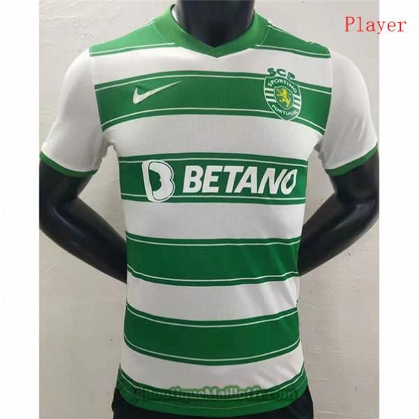 Maillot Sporting Lisbon 2021 2022 Player Domicile