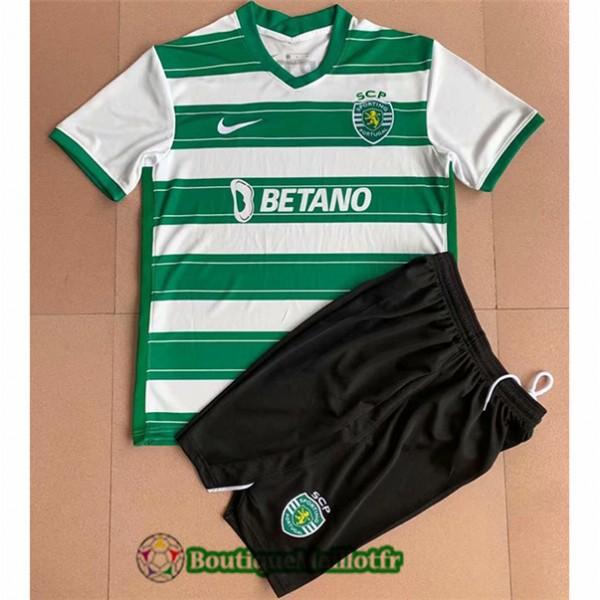 Maillot Sporting Lisbon Enfant 2021 2022 Domicile