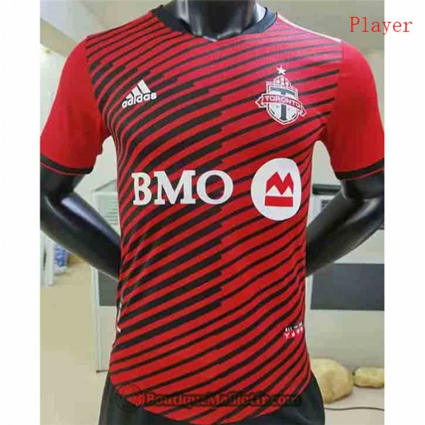 Maillot Toronto 2021 2022 Player Domicile Rouge