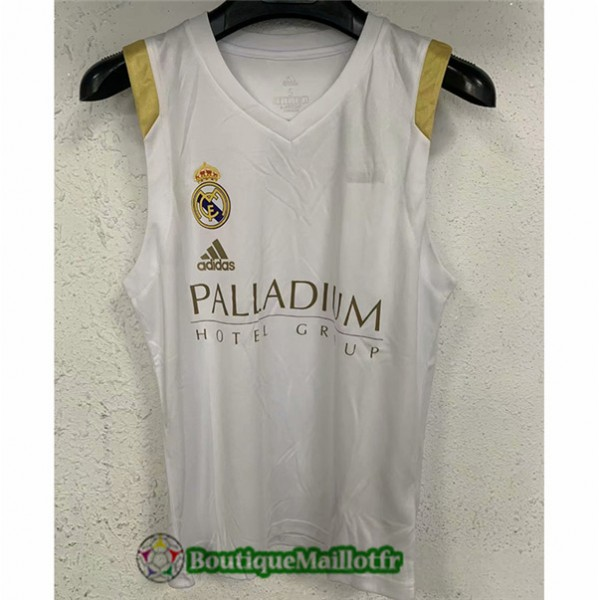 Maillot Vest Real Madrid 2021 2022 Blanc