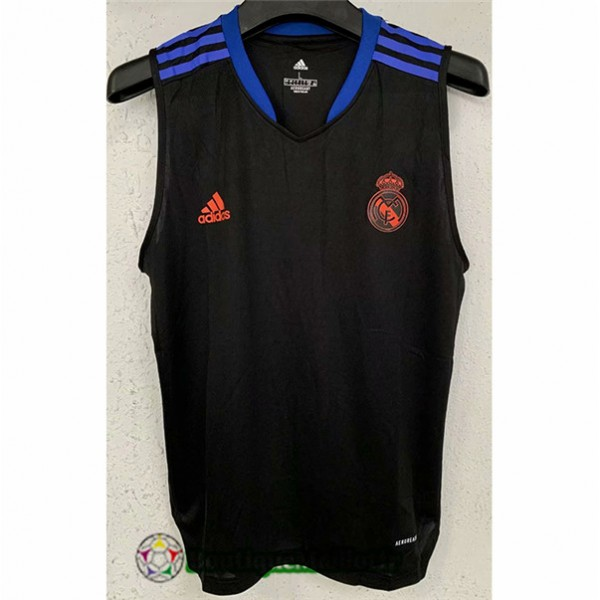 Maillot Vest Real Madrid 2021 2022 Noir/bleu