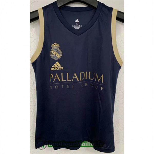 Maillot Vest Real Madrid 2021 2022 Noir/jaune