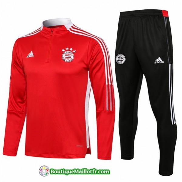 Survetement Bayern Munich 2021 2022 Rouge