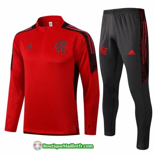 Survetement Flamengo 2021 2022 Rouge